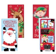 Christmas Money Wallets Pack Of 2