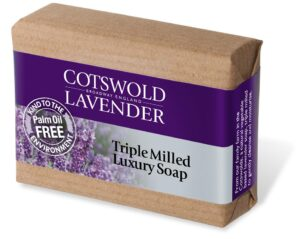 Triple milled luxury soap