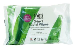New Facial Wipes